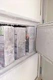 Laboratory freezer Royalty Free Stock Photography