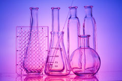 Laboratory glass Stock Photography