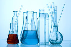 Laboratory glass stock images
