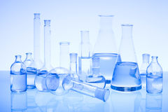 Laboratory glass Royalty Free Stock Photo