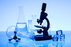 Laboratory glass Stock Photos