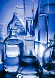 Laboratory glass. A laboratory is a place where scientific research and experiments are conducted. Laboratories designed for processing specimens, such as Royalty Free Stock Image