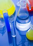 Laboratory glass Royalty Free Stock Photos