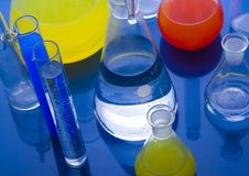 Laboratory glass Royalty Free Stock Image