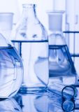 Laboratory glass Stock Image