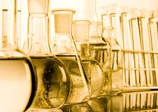 Laboratory glass Royalty Free Stock Images