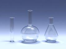 Laboratory glass Stock Photo