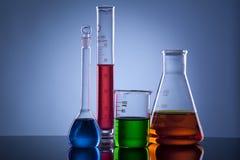 Laboratory glass horizontal Stock Photos