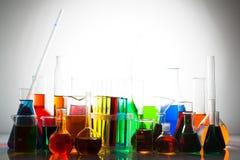 Laboratory glass Stock Image