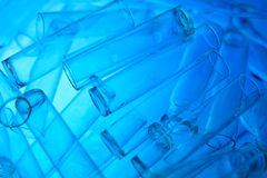 Laboratory glasses Stock Images