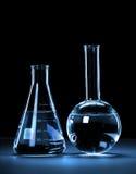Laboratory Glassware Stock Image
