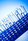 Laboratory glassware. For medical analysis Stock Photo