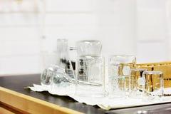 Laboratory glassware Stock Photography