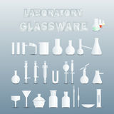 Laboratory glassware Stock Photography