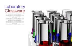 Laboratory glassware Royalty Free Stock Image