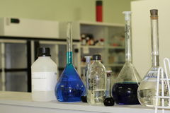 Laboratory Glassware Royalty Free Stock Images