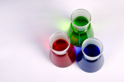 Laboratory Glassware - Breakers Stock Image