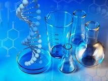 Laboratory glassware Royalty Free Stock Photography