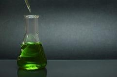 Laboratory glassware equipment Royalty Free Stock Image