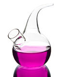 Laboratory glassware isolated Royalty Free Stock Image