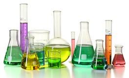 Laboratory Glassware stock images