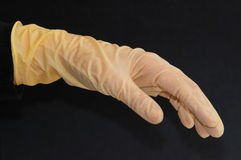 Laboratory glove 2 Stock Images