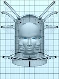 Laboratory heads Stock Images