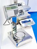 Laboratory industrial scales. In store