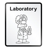 Laboratory Information Sign Stock Photos