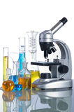 Laboratory instruments Royalty Free Stock Photo