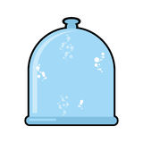 Laboratory jar. Glass Bell. Glassware for scientific experiment Stock Photo