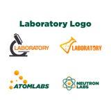 Laboratory Logo Template Royalty Free Stock Photography