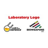 Laboratory Logo Template Stock Photography