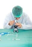 Laboratory man stock photography