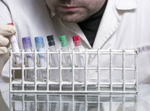 Laboratory man Royalty Free Stock Photos