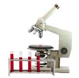 Laboratory microscope Royalty Free Stock Photos