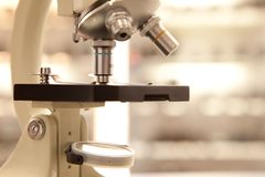 Laboratory microscope Stock Photos