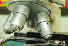 Laboratory Microscope Stock Photo