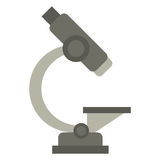 Laboratory microscope equipment icon Stock Photos