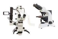 Laboratory microscope Stock Photos