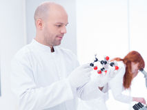 Laboratory molecular analysis Royalty Free Stock Photos