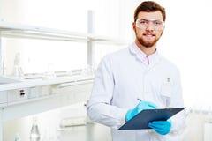 Laboratory notes Stock Photography