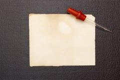 Laboratory pipette Stock Image
