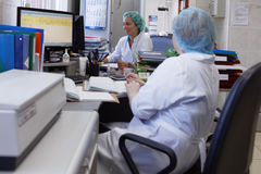 Laboratory of quality control of chemical-biological enterprise Vita Stock Photos