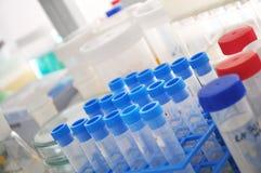 Laboratory reagents Stock Photo