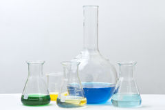Laboratory Reagents Royalty Free Stock Photo