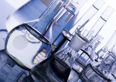Laboratory requirements. A laboratory is a place where scientific research and experiments are conducted. Laboratories designed for processing specimens, such as Royalty Free Stock Image