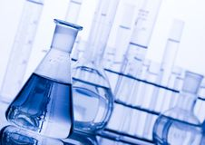 Laboratory requirements Stock Image