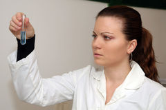 Laboratory research. Ing of influenza or some other possible disease Stock Images