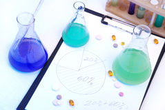 Laboratory research Royalty Free Stock Image